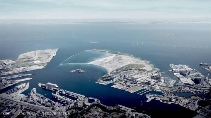 Klimabevægelse sagsøger staten for øen Lynetteholm: Vi er bange for, at man ikke kan trække i land