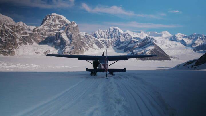 Gletsjere i Alaska smelter med rekordfart