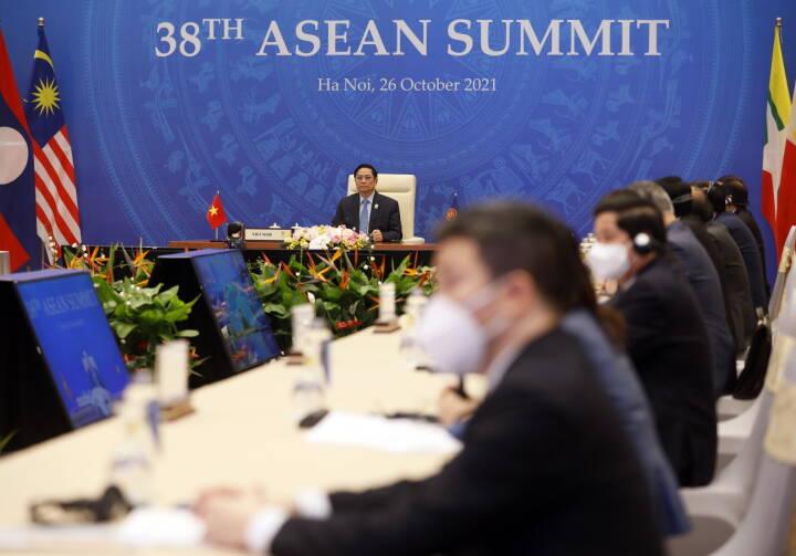 Uden fortilfælde: Myanmar sat uden for døren ved regionalt topmøde