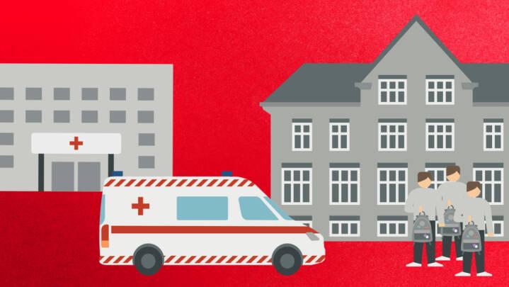 Få overblikket over, hvor regeringen vil lægge de nye nærhospitaler - og resten af dagens udspil
