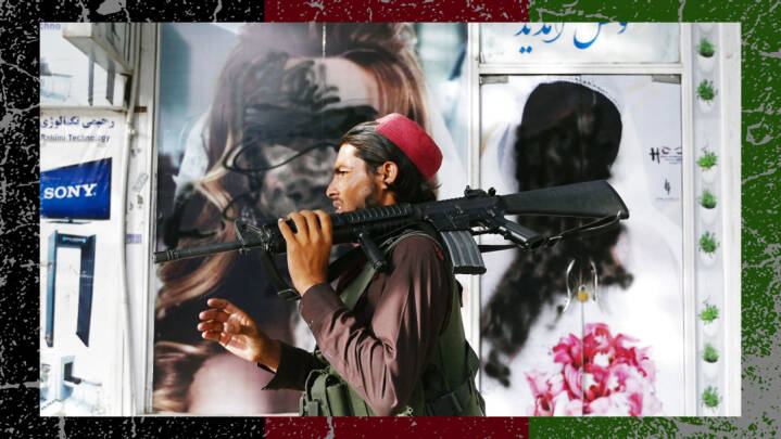Taliban tager magten i Afghanistan