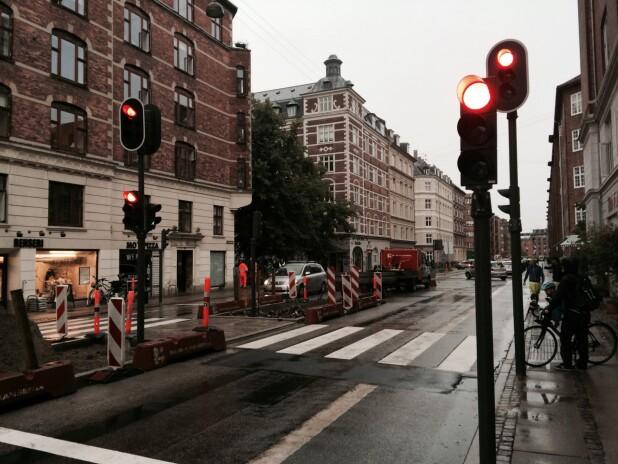 8e8794b38558 Lyskrydset ligger på Classensgade på Indre Østerbro i København