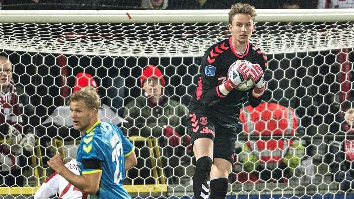 3ae99db1 Brøndbys målmand Frederik Rønnow fortsætter karrieren i Tyskland efter  denne sæson. (Foto: henning Bagger © Scanpix)