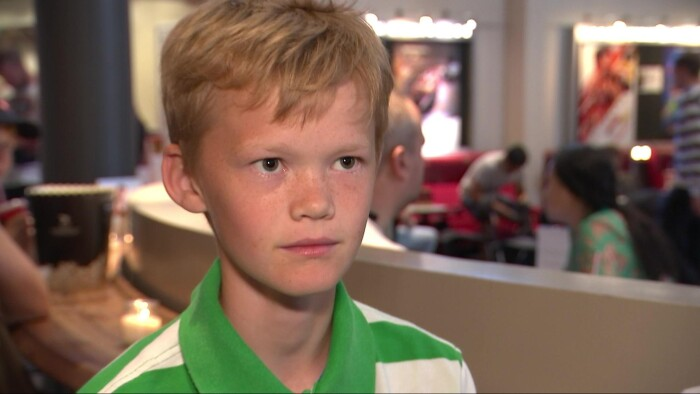 272a4588 Magnus Malthe Andsbjerg Kristensen på 13 år synes ikke, at børn under 16 år  har brug for at drikke energidrik.