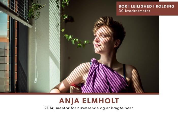 b9409aa0387 Anja Elmholt begyndte sin minimalist-tilværelse for to år siden. Hun  flyttede meget og var træt af at pakke flyttekasser på samlebånd.