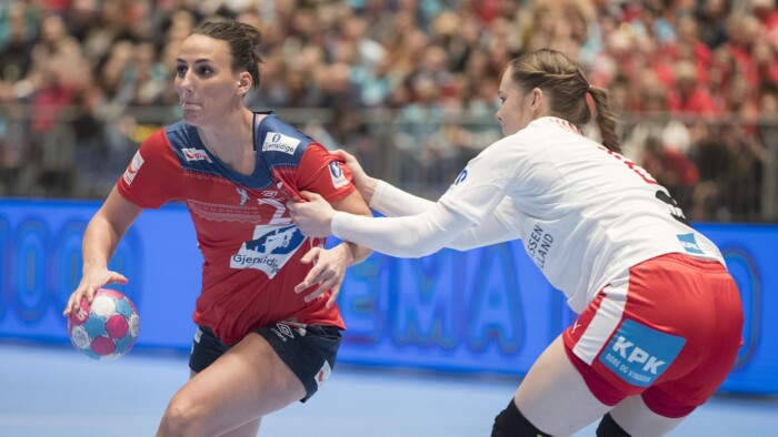 e8d9d93ea0d De danske håndboldkvinder kunne ikke gøre meget ved Norge, da de to  nationer mødtes i Møbelringen Cup lørdag. (Foto: Ruud © Scanpix)