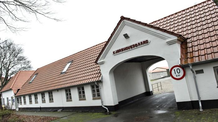 b5a774ad1bd Beboere på Kærshovedgård skal ikke længere kunne afsone med fodlænke. Kun  syv personer har haft fodlænke på. (Foto: henning Bagger © Scanpix)