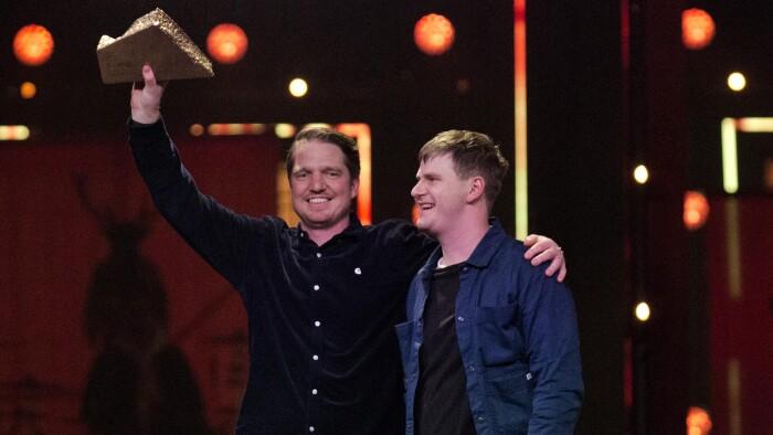 3db34876 Populær duo overrasker med pris for årets lytterhit: 'Det er rigtig stort!'