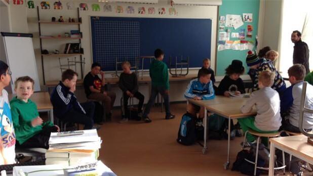 Skole I København Hverdagen Er Tilbage Efter Lockouten Indland Dr