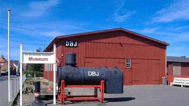 åbent Hus På Jernbanemuseet På Nexø Havn Bornholm Dr