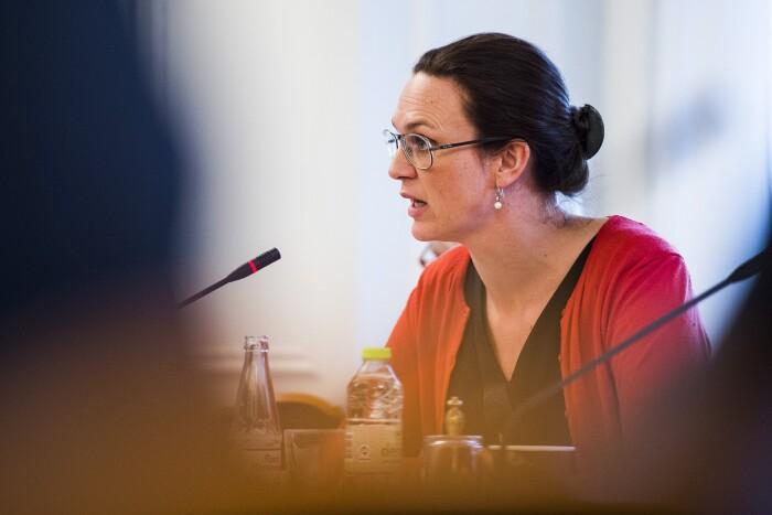 f1362a9f Undervisningsminister Merete Riisager mener, det er for tidligt at sige, om  folkeskolereformen har haft en effekt på de positive Pisa-resultater.