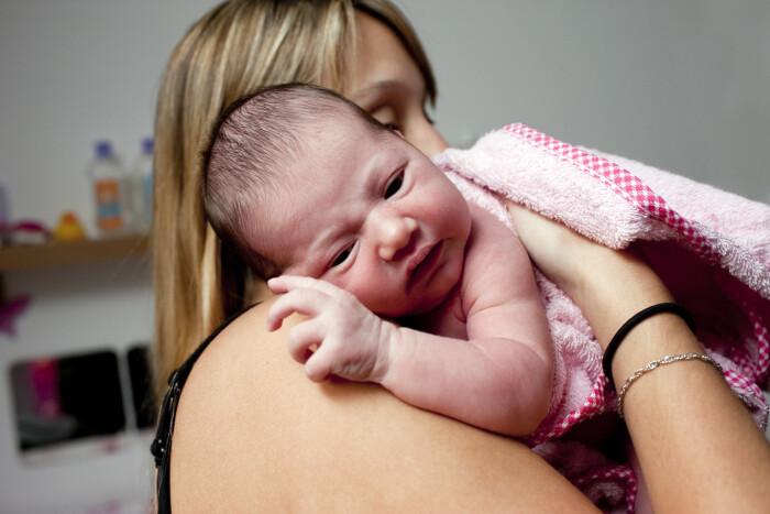 8 ugers undersøgelse efter fødsel