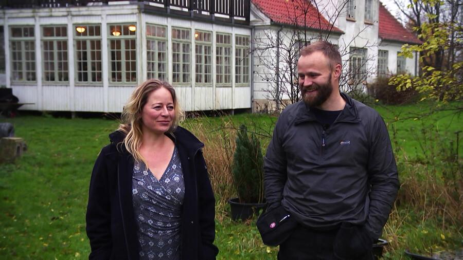 Anne-Line Ussing og Per Sommerlund.