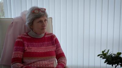 Mette Lene Johanssons tidligere behandler Birgit. I dag går Mette Lene Johansson i ambulant behandling.