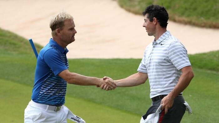 Søren Kjeldsen slår verdensranglistens nummer to | Golf | DR