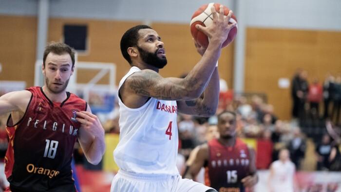 Danske basketballherrer tabte pusten mod Belgien