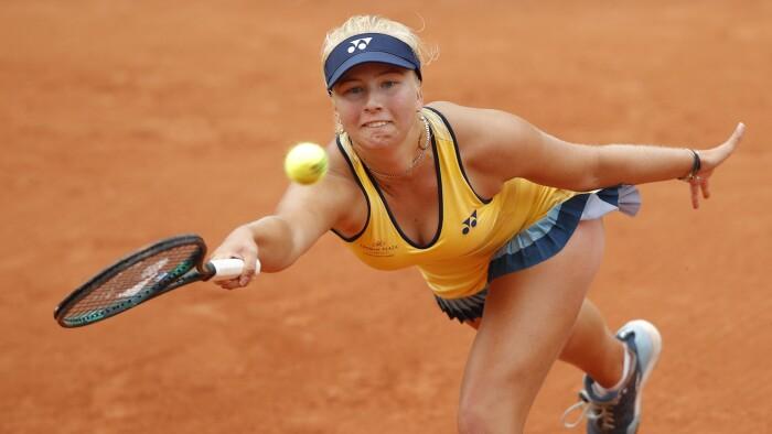 Tauson er færdig i French Open