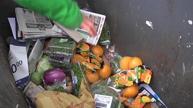 Frankrig: Supermarkeder får forbud mod at smide fødevarer ud