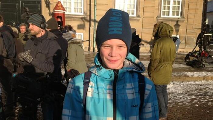 13-årige Jonas har et ønske til Jelved | Indland | DR