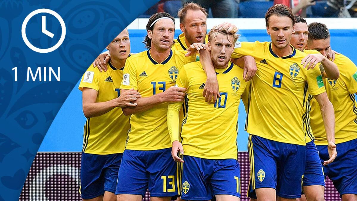 b482d556daf SE KAMPEN PÅ 1 MIN Forsberg sender Sverige i VM-ekstase   FIFA VM 2018   DR