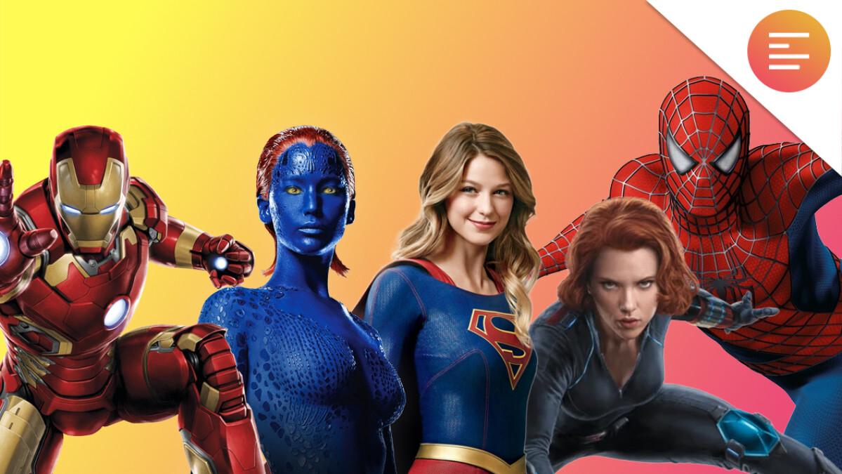 Kvindelige superhelte