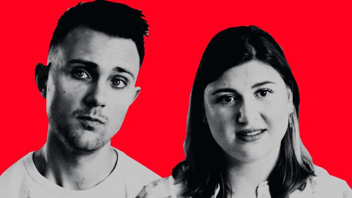 Toværelses til 13.000 kr. rev økonomien i stykker: Nu er Mikkel og Nadine flyttet sammen på et værelse | Penge