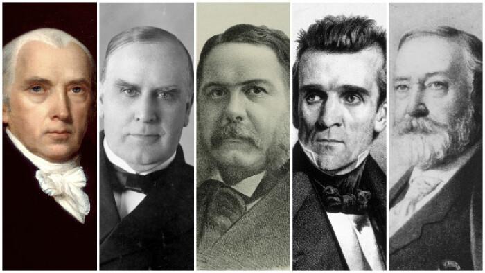 Hørt om præsident Polk? Her er 5 vigtige men glemte amerikanske præsidenter | Valg i USA 2016 | DR