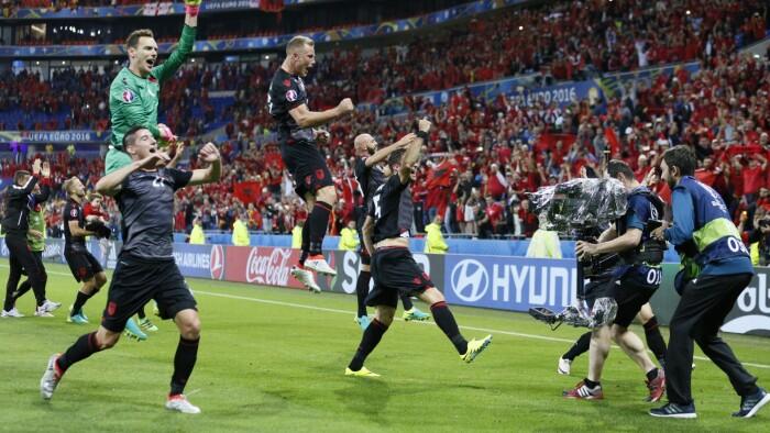 Rumänien Albanien Tv