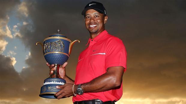 Tiger Woods triumferer for anden gang i år   Sport   DR