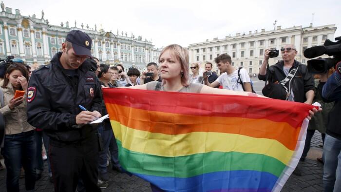 Homoseksuelle Gasset I Rusland